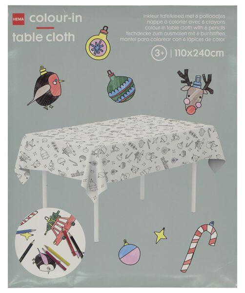 colouring tablecloth 240x110 - 25250040 - hema