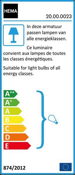lampe de table - bois - 20000023 - HEMA