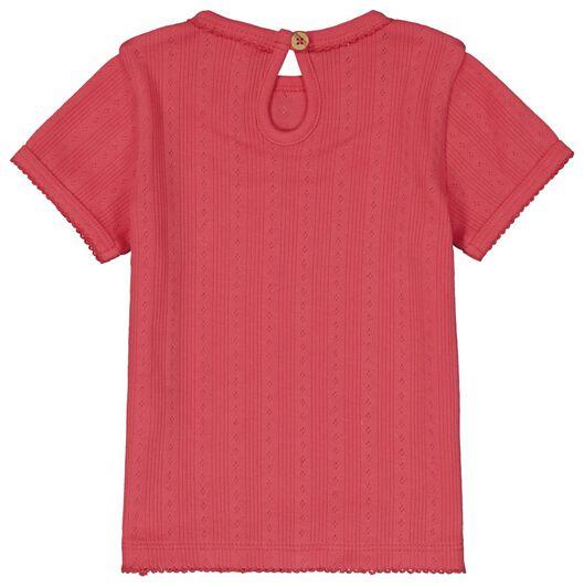 2er-Pack Baby-T-Shirts, Ajour eierschalenfarben eierschalenfarben - 1000023391 - HEMA