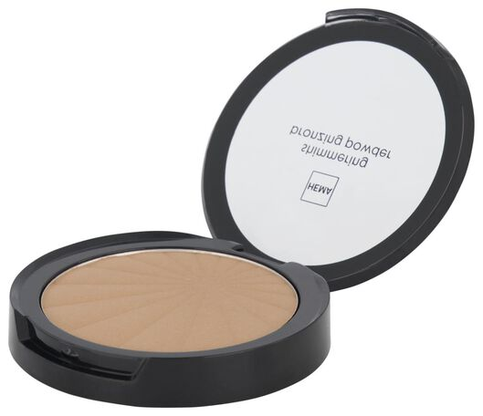 shimmering bronzing powder 01 honey glow - 11290231 - HEMA