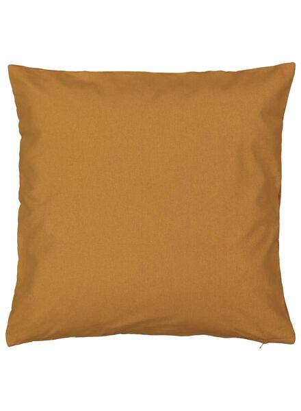 housse de coussin - 50 x 50 - rayée - brun clair - 7392108 - HEMA