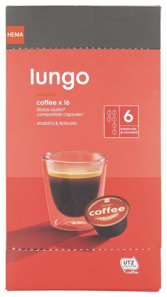 16er-Pack Kaffeekapseln Lungo - 17100132 - HEMA