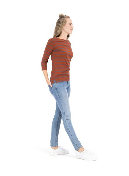 haut femme marron marron - 1000014800 - HEMA