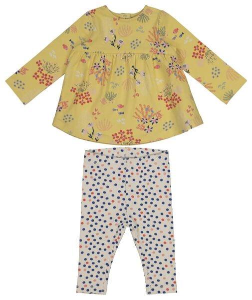 newborn set yellow yellow - 1000017660 - hema