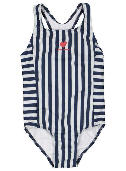 children's swimsuit dark blue dark blue - 1000015489 - hema