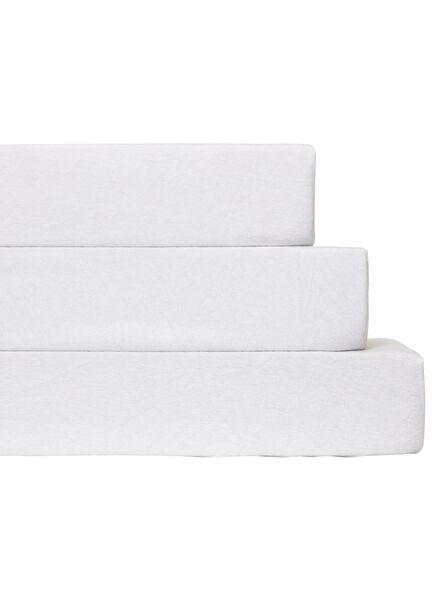 drap-housse molleton stretch 140 x 200 cm - 5140070 - HEMA