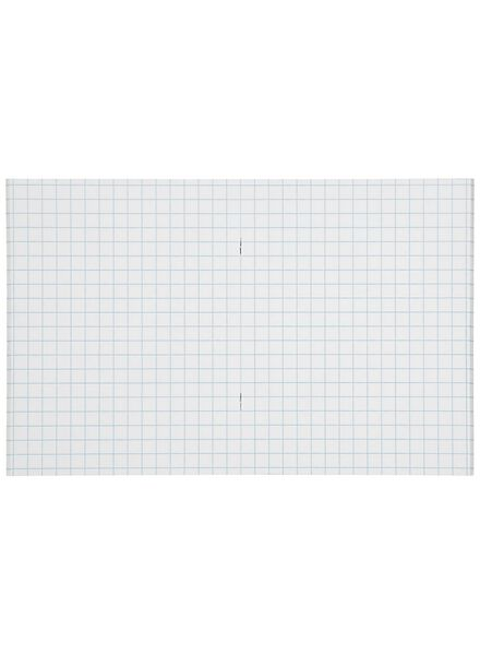 3er-Pack Hefte, mintgrün, DIN A5, kariert (10 x 10 mm) - 14101600 - HEMA
