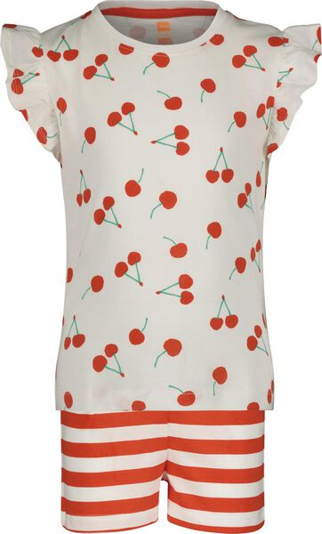 Kinder-Kurzpyjama rot rot - 1000018477 - HEMA