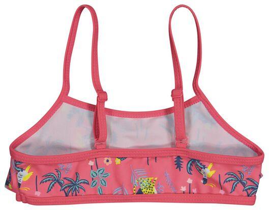 children's bikini flounce jungle dark pink dark pink - 1000022789 - hema
