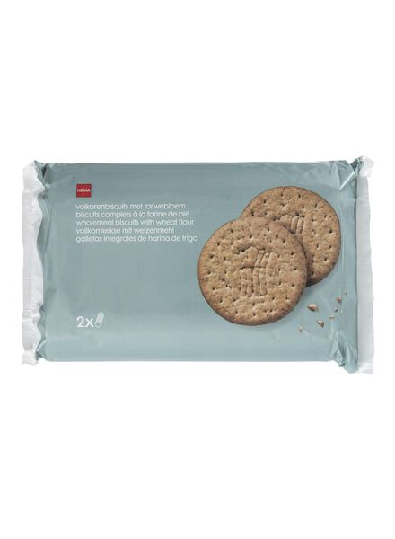 2-pack whole wheat biscuits - 10840011 - hema