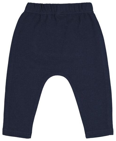 pantalon sweat bébé bleu foncé bleu foncé - 1000020197 - HEMA
