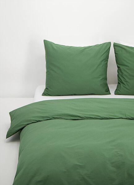 Bettwäsche, Soft Cotton, einfarbig grün grün - 1000016596 - HEMA