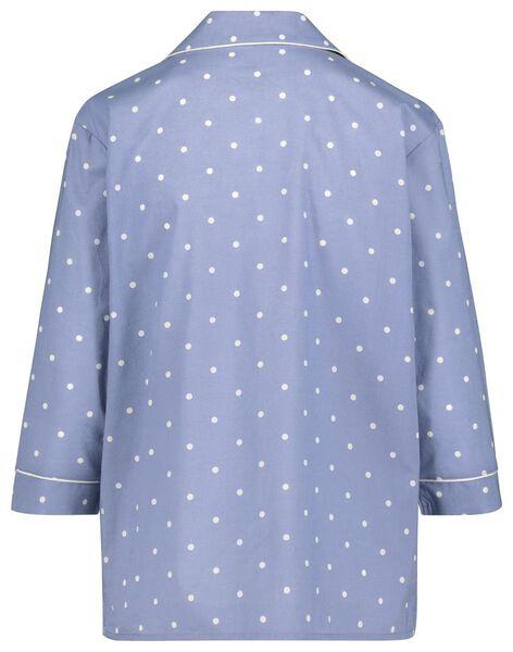 women's night top blue blue - 1000018750 - hema