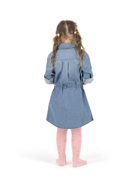 robe enfant denim denim - 1000013532 - HEMA