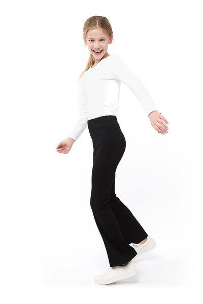 children's flared jeans black black - 1000017780 - hema