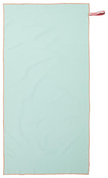 serviette de bain microfibre 70x140 vert clair - 5290064 - HEMA