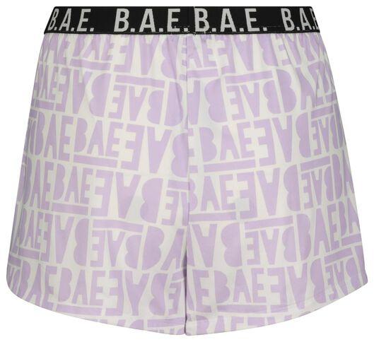 B.A.E. women's pyjama bottoms light purple light purple - 1000019503 - hema