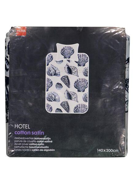 housse de couette hôtel coton satiné 140 x 200 cm - 5710073 - HEMA