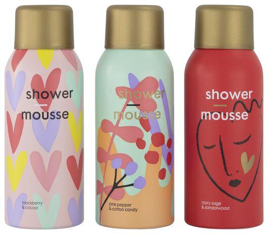 3 mousses pour la douche - 11314416 - HEMA