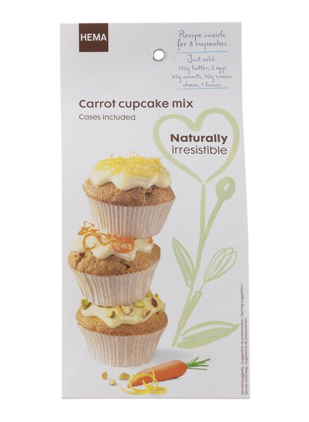 mélange cupcake carotte - 10260024 - HEMA