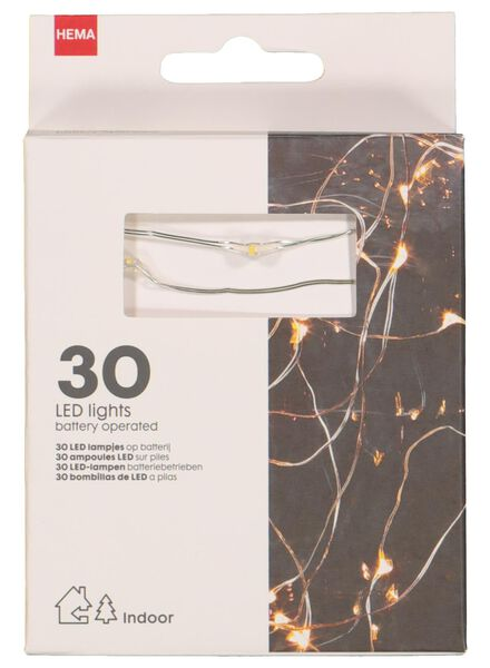 guirlande lumineuse LED 30 lampes - 25590020 - HEMA