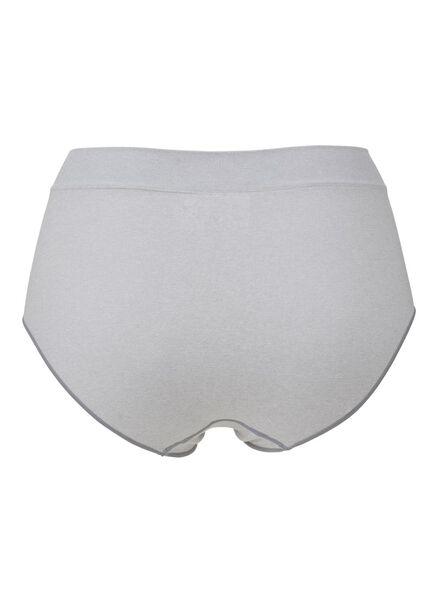 women's slip briefs seamless grey melange grey melange - 1000006548 - hema
