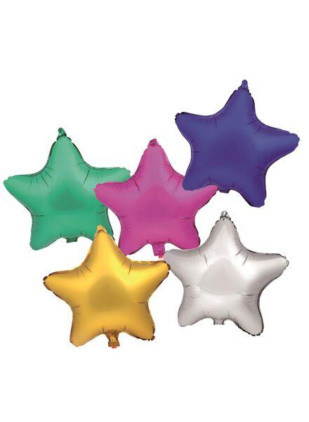 5 Folienballons Sterne, 38 cm - 25210033 - HEMA