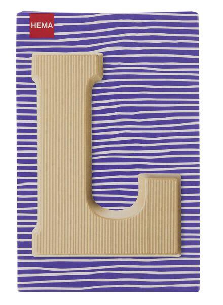 white chocolate letter L - 10037010 - hema