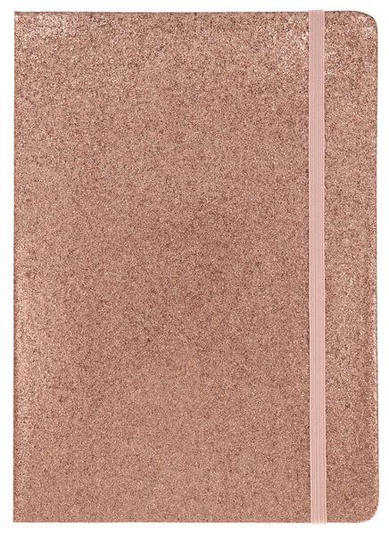 Notizbuch, DIN A5, liniert, rosa - 14120052 - HEMA