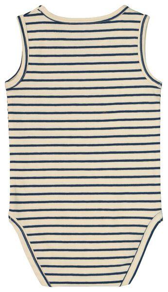bodysuit organic stretch cotton blue blue - 1000019342 - hema
