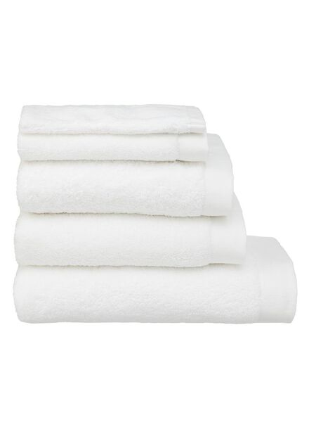 towel - 60 x 110 cm - ultra soft - white white towel 60 x 110 - 5217001 - hema