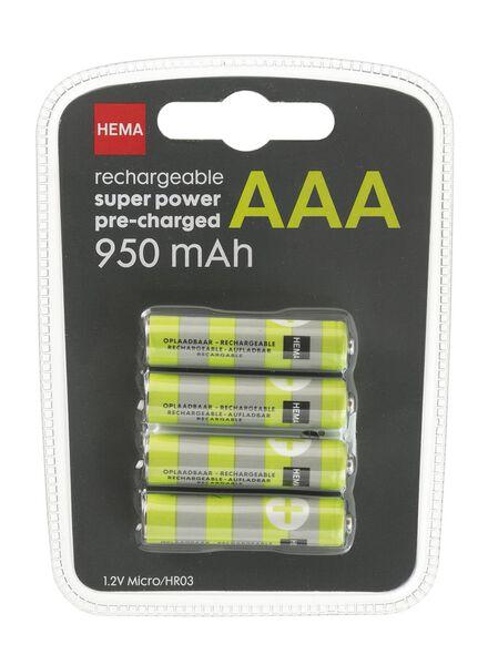 HEMA 4er-Pack Akkus