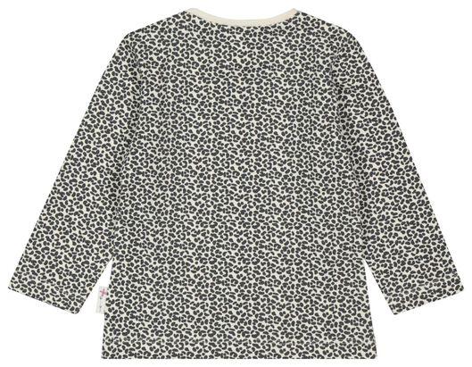 baby t-shirt animal gebroken wit gebroken wit - 1000022192 - HEMA