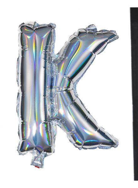 ballon alu lettre K - 60800442 - HEMA