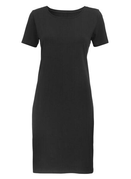 women's dress black black - 1000007334 - hema