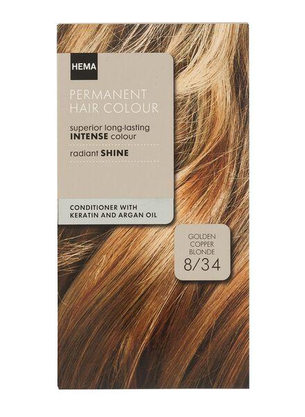 coloration blond cuivré doré 8/34 - 11050021 - HEMA