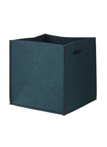 Filzkorb, 25 x 24.8 x 4 cm - 39882007 - HEMA
