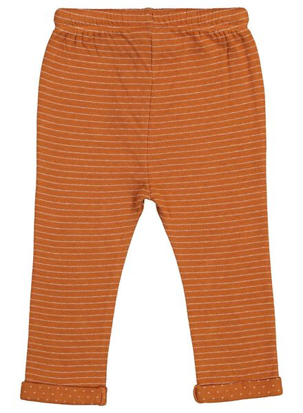 baby sweatpants brown brown - 1000015559 - hema