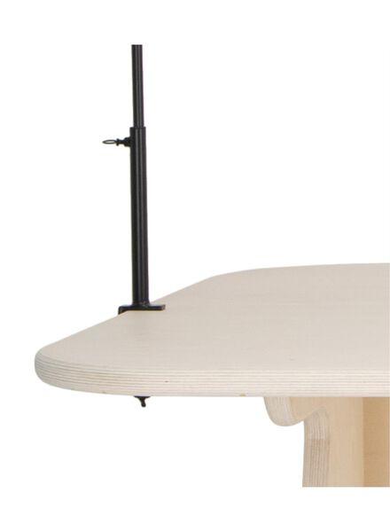 Tischständer mit Klemmen, 300 cm, schwarz - 13092008 - HEMA