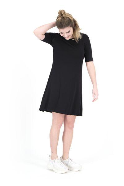 women's dress black black - 1000019239 - hema