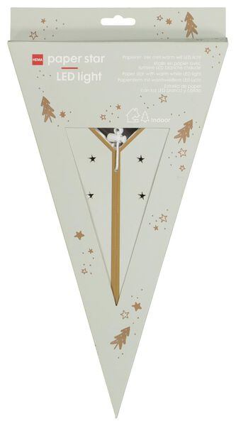 LED-Weihnachtsstern, Ø 68 cm, grün - 25580013 - HEMA