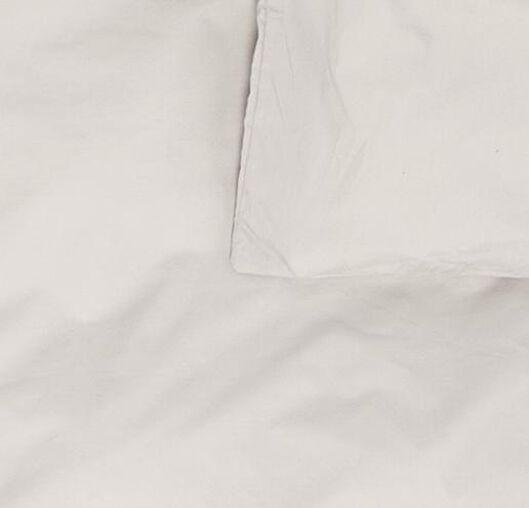 housse de couette-hôtel percale de coton sable sable - 1000017769 - HEMA