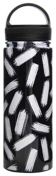 Isolierkanne, 500 ml, Edelstahl, Streifen - 61140141 - HEMA