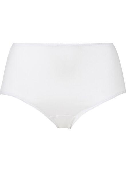 3er-Pack Damen-Slips weiß weiß - 1000001981 - HEMA