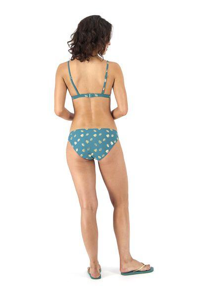 women's padded triangle bikini top dark green dark green - 1000017953 - hema