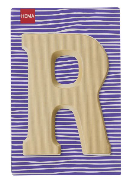 white chocolate letter R - 10037015 - hema