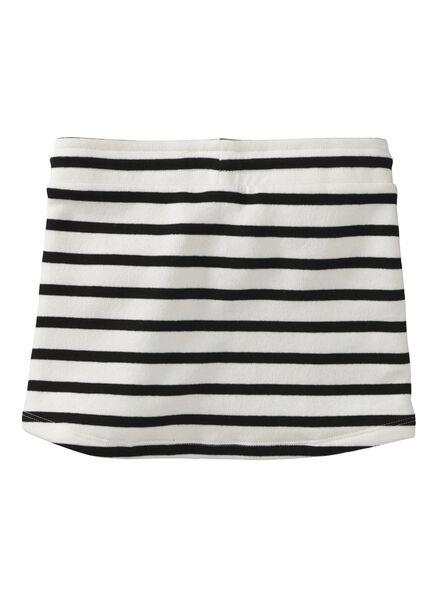 children's sweatshirt fabric skirt white/black white/black - 1000005792 - hema