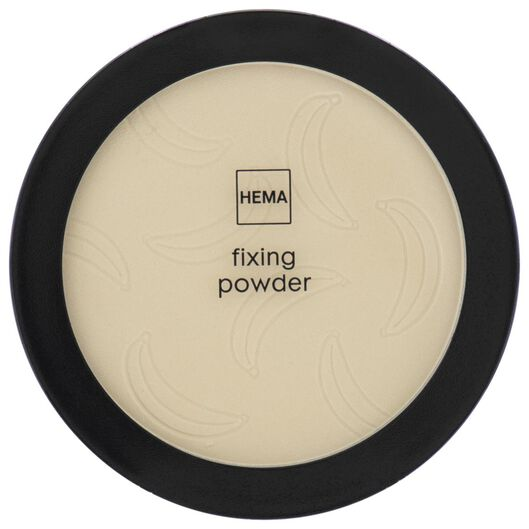 fixing powder 02 banana - 11290212 - hema
