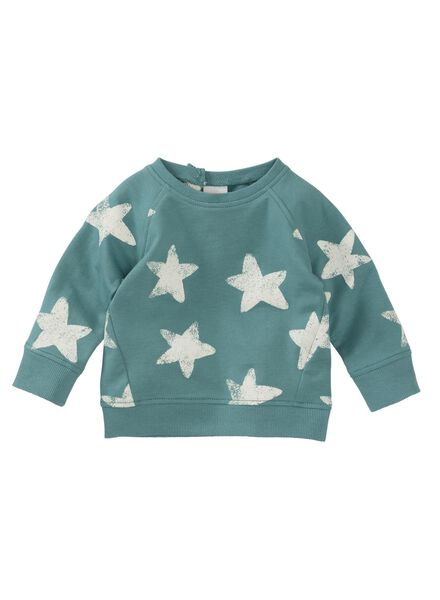 Baby-Sweatshirt blau blau - 1000011446 - HEMA