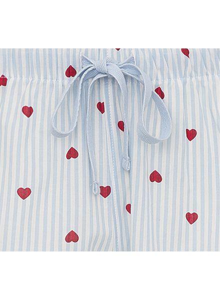 women's pyjama bottoms cotton light blue light blue - 1000011879 - hema
